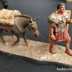 Juguetes Antiguos: EL LEGIONARIO: LA MULA DE MARIO. SOLDADOS DE LA ANTIGUA ROMA FIGURAVARIOS-92. Lote 254692170