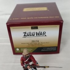 Juguetes Antiguos: BRITAINS ZULU WAR 20174 BRITISH 24TH FOOT SGT. BOURNE Nº 2 PARRYING WITH BAYONET. Lote 255989215