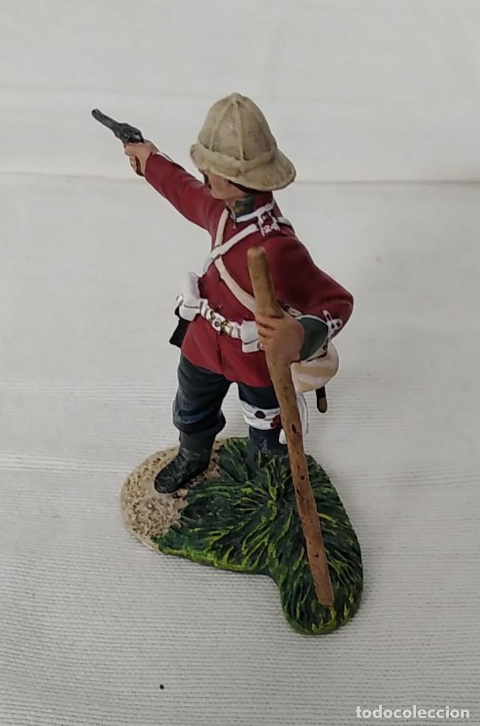 Juguetes Antiguos: BRITAINS ZULU WAR 50042C BRITISH 24th FOOT WOUNDED FIRING PISTOL - Foto 4 - 255989340
