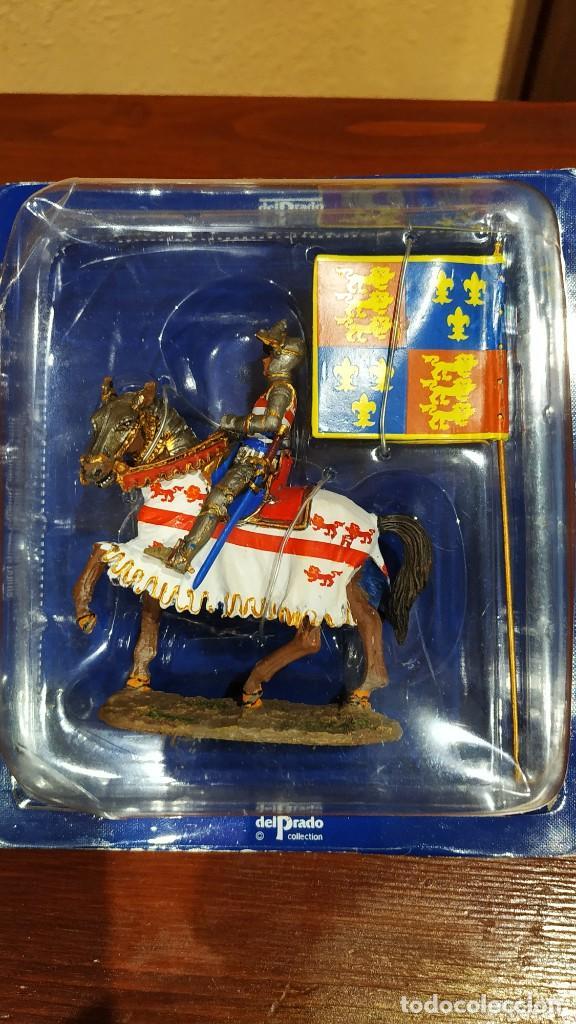 Juguetes Antiguos: Caballero Medieval Plomo . Pintado a mano - Foto 7 - 241020250