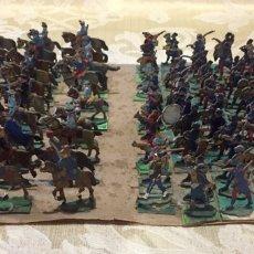 Giochi Antichi: LOTE DE 108 ANTIGUOS SOLDADITOS DE PLOMO.. Lote 258107050