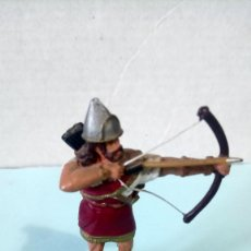 Juguetes Antiguos: FIGURA DE PLOMO. ARQUERO ASIRIO. COLECCIÓN ALMIRALL PALOU.. Lote 261886780