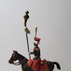 Juguetes Antiguos: SOLDADITO DE PLOMO A CABALLO FRANCES.FABRICADO POR CBG MIGNOT EN FRANCIA ENTRE 1870 Y 1920. Lote 261970670