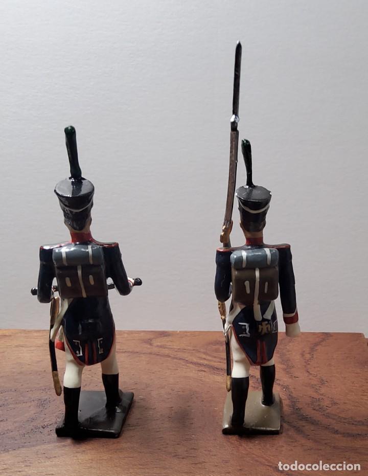 Juguetes Antiguos: 2 SOLDADOS DE PLOMO PRIMER IMPERIO FRANCES.FABRICADO POR CBG MIGNOT EN FRANCIA ENTRE 1870 Y 1920 - Foto 5 - 262031985