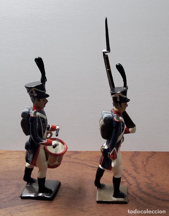 Juguetes Antiguos: 2 SOLDADOS DE PLOMO PRIMER IMPERIO FRANCES.FABRICADO POR CBG MIGNOT EN FRANCIA ENTRE 1870 Y 1920 - Foto 7 - 262031985