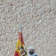Juguetes Antiguos: SOLDADO DE PLOMO ESCOLTA MORA DE FRANCO. Lote 262431745