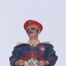 """Juguetes Antiguos: SOLDADO DE PLOMO. VICENTE JULIÁ. """"CHAUVE"""". OFICIAL REGULARES CON CHILABA.COLECCIÓN SOLDADOS 1936-39.. Lote 264800134"""