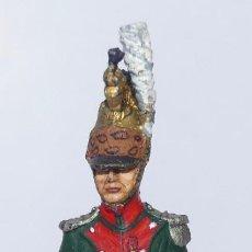 Juguetes Antiguos: SOLDADO DE PLOMO. RAMÓN LABAYEN. NAPOLEONICOS. OFICIAL DRAGONES DE LÍNEA.RGTO. Nº 3. 1806. Lote 264802229