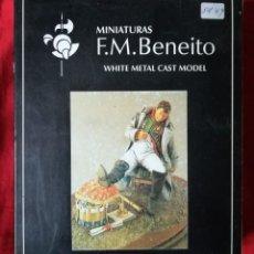 Juguetes Antiguos: SOLDADO PARA PINTAR R.F. 90-13 - MINIATURAS F.M. BENITO - NUEVO EN SU CAJA ORIGINAL - PJRB. Lote 264964609