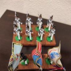 Juguetes Antiguos: 11 SOLDADOS DE PLOMO - US CORPS OF CADETS WEST POINT - ALYMER. Lote 265996733