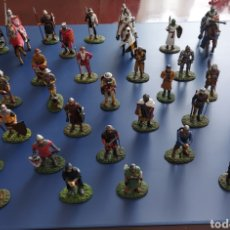 Juguetes Antiguos: INCREIBLE COLECCIÓN SOLDADOS DE PLOMO MEDIEVALES. Lote 268726839