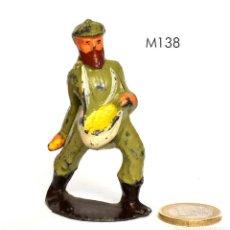Juguetes Antiguos: FIGURA DE FARM SET, DE LA MARCA MANOIL, NO BRITAINS NI BARCLAY, 1930, Nº M138 DEL CATÁLOGO.. Lote 270377528