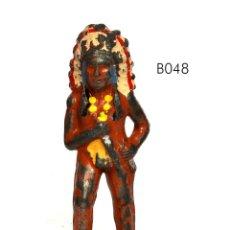 Juguetes Antiguos: JEFE INDIO, DE PLOMO HUECO, MARCA BARCLAY, NO BRITAINS, CIRCA 1930, Nº B048. Lote 270524308