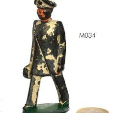 Juguetes Antiguos: MÉDICO MILITAR DE PLOMO HUECO, MARCA MANOIL, NO BARCLAY, NO BRITAINS, CIRCA 1930. M034.. Lote 270866968