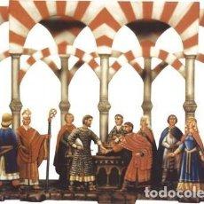 Juguetes Antiguos: ESCENARIO DEL CID: OBLIGANDO A ALFONSO VI A JURAR, DE LA CASA BZ, ALEMANIA. PLOMOALEACIÓN. Lote 273484113