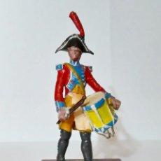 Juguetes Antiguos: ALYMER TAMBOR LEGION DE GENDARMES FRANCIA 1808. Lote 276133403