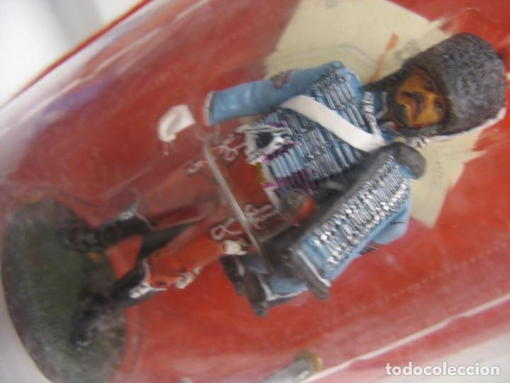 Juguetes Antiguos: soldado del prado de plomo en su blister - Foto 2 - 276747853