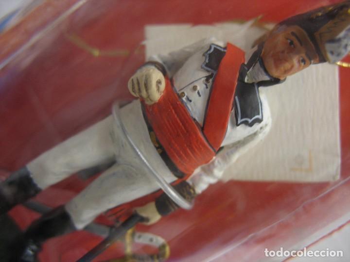 Juguetes Antiguos: soldado del prado de plomo en su blister - Foto 2 - 276747883