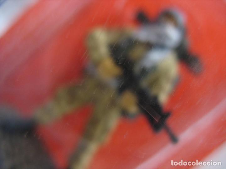 Juguetes Antiguos: soldado del prado de plomo en su blister - Foto 2 - 276747928