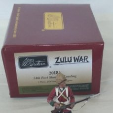 Juguetes Antiguos: BRITAINS ZULU WAR 20185 BRITISH 24TH FOOT STANDING LOADING. Lote 278693648