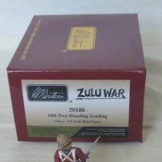 Juguetes Antiguos: BRITAINS ZULU WAR 20186 BRITISH 24TH FOOT KNEELING LOADING. Lote 278693863