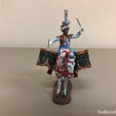 Juguetes Antiguos: SOLDADITO DE PLOMO A ESCALA 1/35,TAMBOR MAMELUCO GUARDIA IMPERIAL FRANCESA,1810,DELPRADO COLLECTION.. Lote 279520248