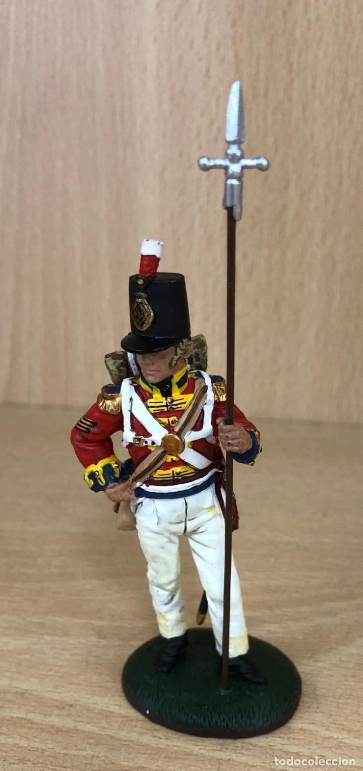 SOLDADO PLOMO DEL PRADO. SARGENTO BRITANICO 1813 (Juguetes - Soldaditos - Soldaditos de plomo)