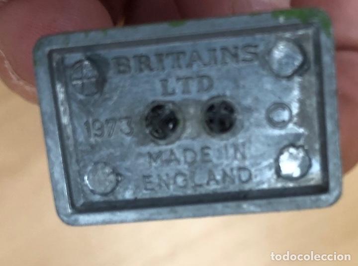Juguetes Antiguos: SOLDADO PLOMO BRITAINS. MADE IN ENGLAND. 1973 - Foto 3 - 279527063