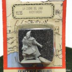 Giochi Antichi: FIGURA DE PLOMO JRR TOLKIENS. LA CIUDAD DEL LAGO. AVENTURERO. MIDDLE-EARTH FIGURINES. NUEVO. M135.. Lote 287896638