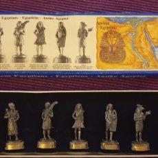 Juguetes Antiguos: SOLDADOS DE PLOMO. ANTIGUO EGIPTO.. Lote 288222763