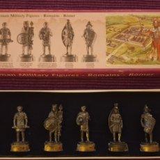 Juguetes Antiguos: SOLDADOS DE PLOMO EJÉRCITO ROMANO.. Lote 288223073