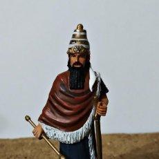 Juguetes Antiguos: REY DE BABYLONIA 7TH CENTURY BC 7 CM. Lote 292385048