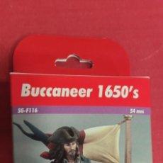 Juguetes Antiguos: BUCANERO 1650. FIGURA PARA PINTAR EN SU CAJA.. Lote 295269883