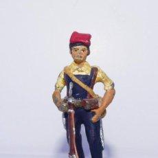 """Juguetes Antiguos: SOLDADO DE PLOMO. MARCA """"CHAUVE"""". MILICIANO CATALÁN. COLECCIÓN """"SOLDADOS 1936-39""""... Lote 295279503"""