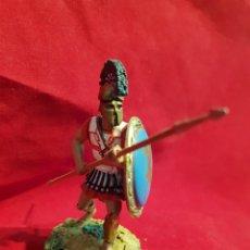 Juguetes Antiguos: SOLDADITO DE PLOMO. GUERREROS DE LA ANTIGUEDAD . ALTAYA. Lote 295497793
