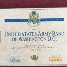 Juguetes Antiguos: BRITTAINS UNITED STATED ARMY BAND OF WASHINGTON DC EDICIÓN LIMITADA. Lote 295997853
