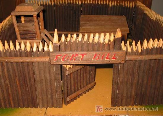Antiguo fuerte del oeste de madera fort bill comprar - Pegamento fuerte para madera ...