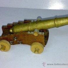 Juguetes Antiguos: CAÑON TOTALMENTE HECHO DE MADERA. Lote 17898289