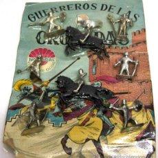 Juguetes Antiguos: BLISTER SOLDADOS MEDIEVALES DE NACORAL GUERREROS DE LAS CRUZADAS AÑOS 70. Lote 14687446