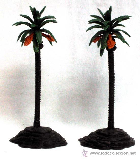 2 palmeras de oliver para bel n en pl stico act comprar - Palmeras de plastico ...