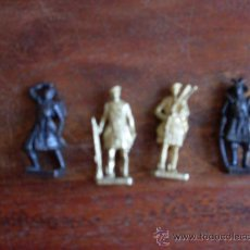 Juguetes Antiguos: LOTE 4 SOLDADOS. Lote 24587715