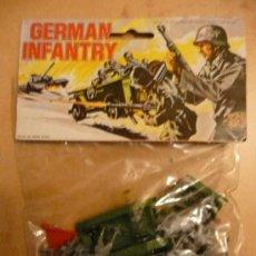 Juguetes Antiguos: GERMAN INFANTRY. Lote 27419534