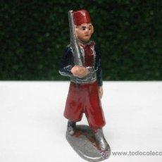 Juguetes Antiguos: SOLDADO DE ALUMINIO ANTIQUISIMO---. Lote 27553086