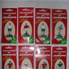 Juguetes Antiguos: LOTE DE 8 FUTBOLISTA DE METAL *SELECCIONES DE EUROPA PARA COLECCIONAR POR SOLO 300 PESETAS *. Lote 26507215