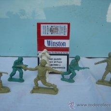 Juguetes Antiguos: 6 SOLDADOS DE PLASTICO. Lote 27583090
