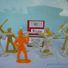 Juguetes Antiguos: 8 SOLDADOS DE PLASTICO. Lote 27583199