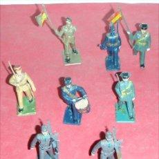 Juguetes Antiguos: LOTE DE 8 SOLDADOS EJERCITO ESPAÑOL. Lote 27619604