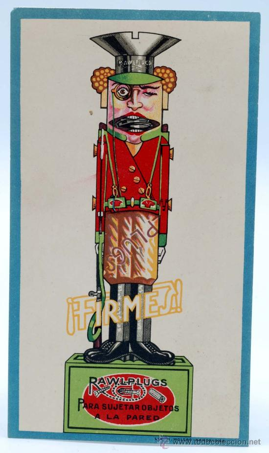 Juguetes Antiguos: Soldado con fusil madera posiblemente Denia publicidad tacos Rawlplugs años 30 con folleto - Foto 9 - 53081214