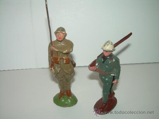 Juguetes Antiguos: ANTIGUOS SOLDADOS. - Foto 2 - 30590329