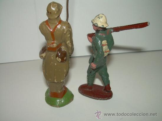 Juguetes Antiguos: ANTIGUOS SOLDADOS. - Foto 5 - 30590329